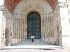 Entrada a la Catedral de #Cuenca - #Ecuador (Sept - 2005)