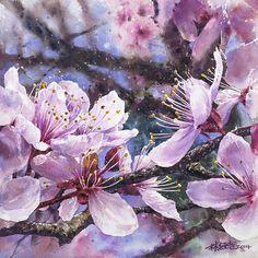 2014 'Fan Ying Flourishing' by Lin Ching Che (林經哲 b1987; Taipei, Taiwan) | Watercolor