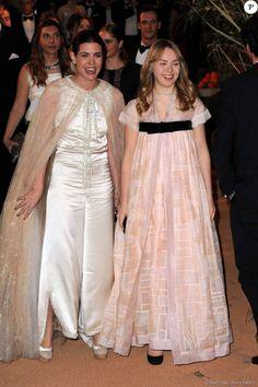 Royal Sisters... Charlotte Casiraghi and Princess Alexandra of Hanover