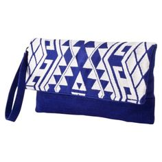 Blue Embroidered Clutch - Target (matches my summer dress for the wedding perfectly)!