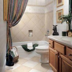 banheiro decorado com cores neutras
