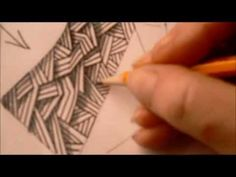How to draw tanglepattern Nekton - YouTube