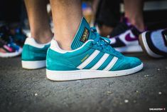 "sweetsoles: "" Adidas Busenitz Pro - Teal (by snkrshot) "" Fashion 101, Mens Fashion, Streetwear, Adidas Busenitz, Skate Shoes, Shoe Game, Sport, Passion For Fashion, Skateboard"