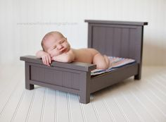 I adore this Newborn Prop Bed! Its great for taking super cute photos of your bundle of joy!