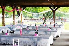 park wedding reception decorations - Google Search