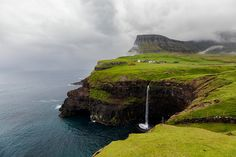 Gasadalur - the most photographed place in the Faroe Islands