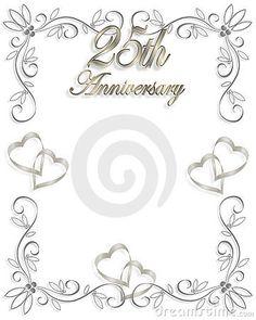 25th-wedding-anniversary-clip-art-borders_425306.jpg (360×450)