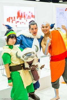 Avatar: The Last Airbender, photo by LJinto at SDCC.