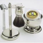 Natural Shaving Options for Men-old fashioned shaving sets are a great gift idea