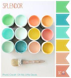 Splendor Color Palette - Inspire Sweetness  http://inspiresweetness.blogspot.com/2013/10/splendor-color-palette.html