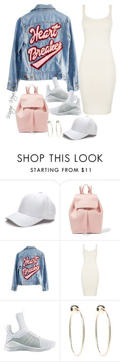 """Untitled #30"" by masego-moya ❤ liked on Polyvore featuring Mansur Gavriel, High Heels Suicide, BLQ BASIQ, Puma and Bebe"