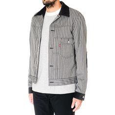 Junya Watanabe MAN x Levi's® Wool Polyester Stripe Jacket