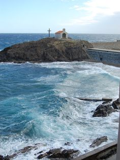 Vue sur la Chapelle Saint Vincent (Collioure), , , oct. 2011
