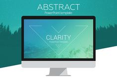 Clarity PowerPoint Template by PresentationDeck on @creativemarket