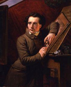 Paul Carpentier (1787-1877) Portrait d'Antoine-François Gelée, 1833 Huile sur toile - 100 x 82 cm Galerie Colnaghi