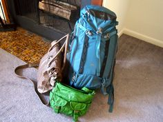 In My Backpack- packing tips for backpackers