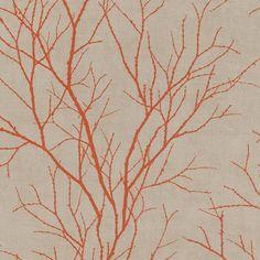 Rasch Twig Tree Branch Pattern Wallpaper Modern Non Woven Textured 455946