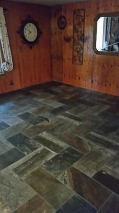 MARAZZI Developed by Nature Porfido 12 in. x 24 in. Glazed Porcelain Floor and Wall Tile sq. / case) at The Home Depot - Mobile Hardwood Floors, Flooring, Tile Layout, Porcelain Floor, Grey And Beige, Wall Tile, Glaze, Tile Floor, Entryway