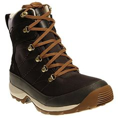 new the north face womens chilkat nylon boot black ink green utility brown