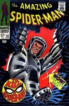 Amazing Spider-Man #58, J. Jonah comin' fo' ya