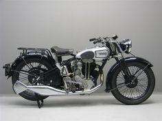 1933 Norton Motorcycle - Beautiful Old Bike!