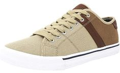 Tommy Hilfiger Men's Roamer-Sc Fabric Medium Natural Canvas Fashion Sneaker - 7.5M