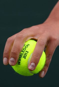 """Very clever - Sony places """"microscopic adverts"""" on tennis star Anne Keothavong's fingernails and shoelaces to show the detail Sony's televisions are able to achieve. Wimbledon 2013, Wimbledon Tennis, Tennis Party, Tennis Stars, American Sports, Sports Photos, Roger Federer, Winter Olympics, Tennis Magazine"""