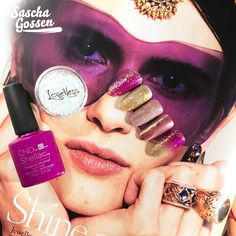 Focus on Vogue!!! Inspiration: @gassandiamonds advertisement in the Dutch Vogue June issue. Materials: CND™ SHELLAC™ Magenta Mischief, Locket Love and Loveness nail art products . #focusonvogue #cnd #gassan #cndnederland #cndshellac  #Creative #nails #nailart #naildesign #vogue #fashion #fashionnails #nailpro #playwithcolors #loveness  #purple  #style #voguenl  #technique #voguenails #bibisnaildesign #Saschagossen #nailprodigy #sascha