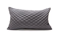 Grey textured pillow cover 30x50 cm,19.6X11.8 inch, Geometry inspired cushion, Modern home decor accessory, Japanese inspired cushion cover