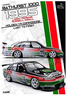 1995 Bathurst Winner Chevy, Holden Australia, Aussie Muscle Cars, V8 Supercars, Australian Cars, Yorky, Driving School, Simple Bags, Car Wrap