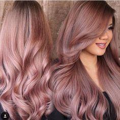 Résultats de recherche d'images pour «rose gold hair»