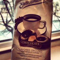 This is how fan @briannechase starts her morning. Which Entenmann's Coffee do you drink before you start your day?    Instagram photo by @briannechase (Brianne Chase)