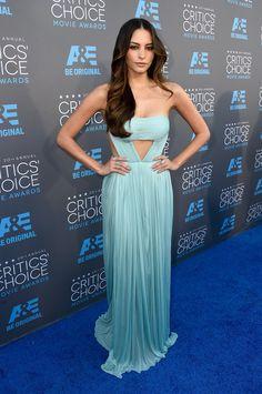 Genesis Rodriguez at the Critics' Choice Awards