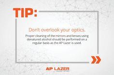 Don't forget your optics! #APlazer
