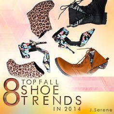J.SERENE | Fashion Milk | 8 Top Fall Shoe Trends 2014 www.blog.jserene.com #lovejserene #jserene #fall #falltrends #shoes #boots #fashionmilk