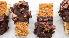 If you love peanut butter cups, our PB ice cream bars are about to blow your mind. Easy to assemble, these DIY sammies are a frozen treat favorite.