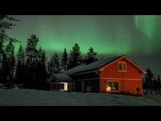 Reindeer Lake Resort Puolukkamaan Pirtit Reindeer Farm in Pello in Lapland Finland Lapland Finland, Lake Resort, Light Pollution, Arctic Circle, Aurora Borealis, Natural Wonders, Northern Lights, Tourism, Monet
