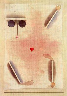 """Paul Klee """"Hat einen Kopf, Hand, Fuß und Herz"""""""