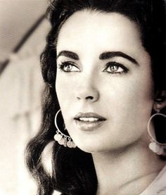 Elizabeth Taylor during production of Giant in Marfa, Texas, photo by Frank Worth, 1955.