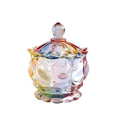 SOCOSY Royal Embossed Crystal Clear Candy Jar with Lids , Apothecary Jar ,Wedding Candy Buffet Jars Crystal Jewelry Box Xmas Gift 7.5oz Size: 9.3*11.5cm / 3.7*4.5in (Diameter*tall) Capacity: 220ml / 7.5oz Material: Eco-friendly glass. https://food.boutiquecloset.com/product/socosy-royal-embossed-crystal-clear-candy-jar-with-lids-apothecary-jar-wedding-candy-buffet-jars-crystal-jewelry-box-xmas-gift-7-5oz/