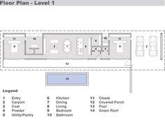 Hermoso plano de casa moderna y minimalista de 2 dormitorios-2