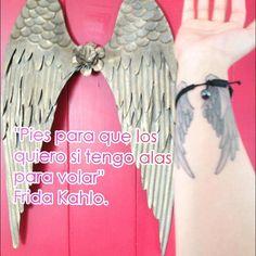 """Las #alas siempre han sido mi fascinación y con esta frase no se puede enmarcar mejor. """"Provehito in altum"""" #connyluna #vivetussueños"""
