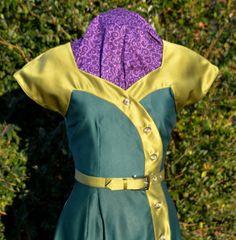 BUY ME SALE 50's swing dress Vintage by CreationsbySavannah