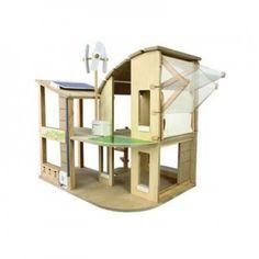 ΟΙΚΟΛΟΓΙΚΟ ΣΠΙΤΙ ΜΕ ΕΠΙΠΛΩΣΗ Το οικολογικό κουκλόσπιτο, διαθέτει μία τουρμπίνα αέρα, έναν ηλιακό συσσωρευτή καθώς και έναν μετατροπέα της αιολικής και ηλιακής ενέργειας σε ρεύμα. Είναι εξοπλισμένο με μια δεξαμενή, για τη συγκέντρωση του νερού της βροχής και μια τέντα, η οποία ανάλογα με τις καιρικές συνθήκες προστατεύει το σπίτι από τον αέρα και τον ήλιο. Επίσης, στο οικολογικό κουκλόσπιτο υπάρχουν κάδοι ανακύκλωσης. Σχεδιασμένο με οικολογική συνείδηση σε κάθε του λεπτομέρεια, έχει ως στόχο…