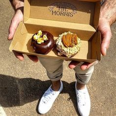 Hey guys, we can't believe it's Monday already either. But to try and cheer you up we wanted to share some donuts from @chasingmrmorris! Well, not actual donuts...but we do have a picture by @luwke_ of some donuts... that's just as good right?!? Right? #visitcanberra #eatallthedonuts
