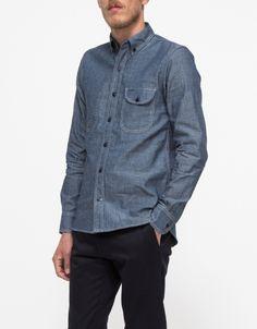 Jumper Shirt Blue Chambray