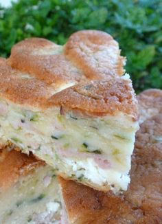 Gateau courgette et chèvre – Chez Vanda - Vegan Recipes Vegan Dessert Recipes, Cake Recipes, Healthy Recipes, Healthy Desserts, Empanada, Chez Vanda, Crockpot Recipes, Food Porn, Food And Drink