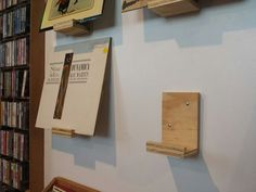 Vinyl Record Displays by NewestCreations on Etsy