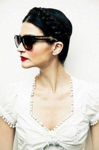 Desperado black rifle by Lena Hoschek Eyewear, Sunglasses Women, Spring Summer, Shades, Turquoise, Elegant, Specs, Black, Store