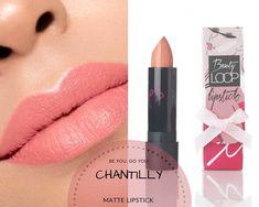Matte lipstick by Beautyloop Matte Lipstick, Beauty, Whipped Cream, Beauty Illustration